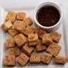 Roasted Tofu With Wasabi Dipping Sauce