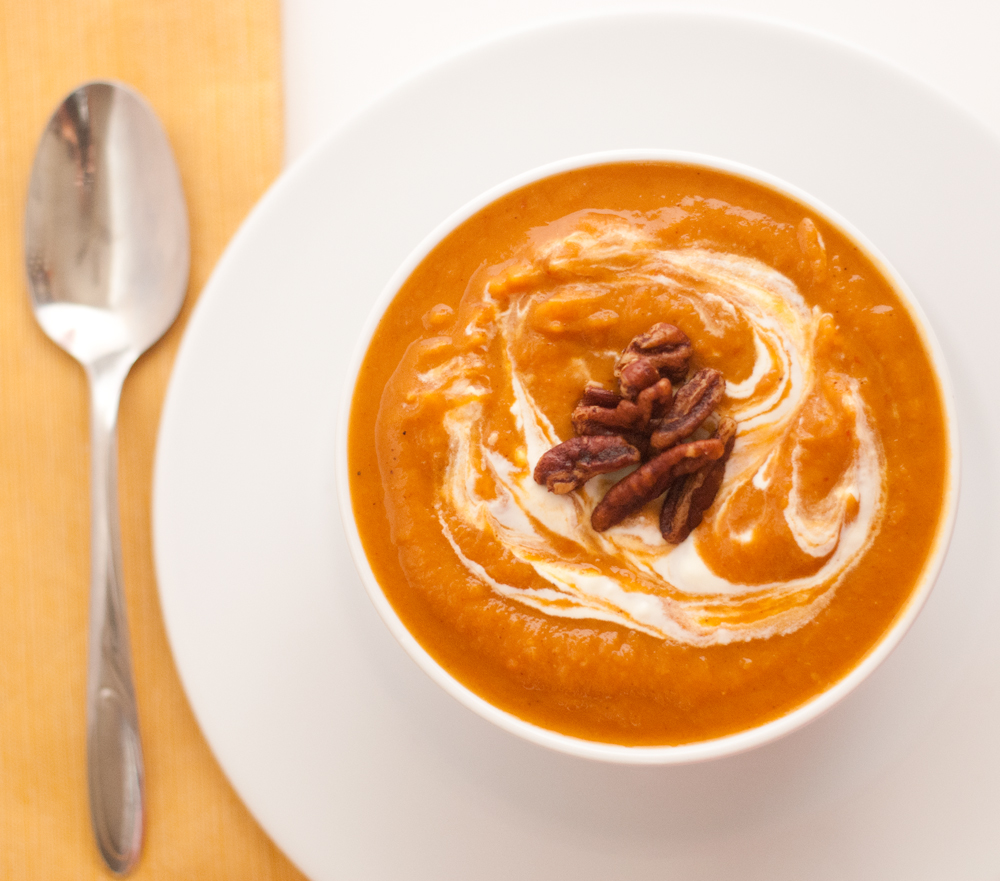 Sweet Potato And Chipotle Soup Recipe — Dishmaps