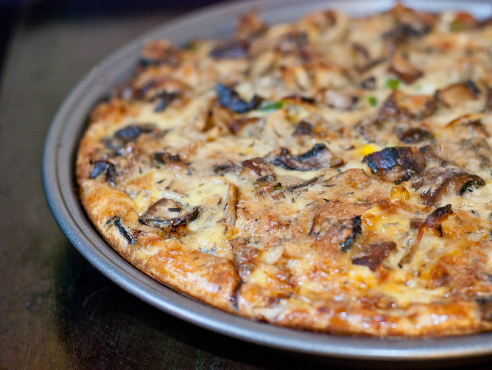 Mushroom and Leek Quiche - Baked In