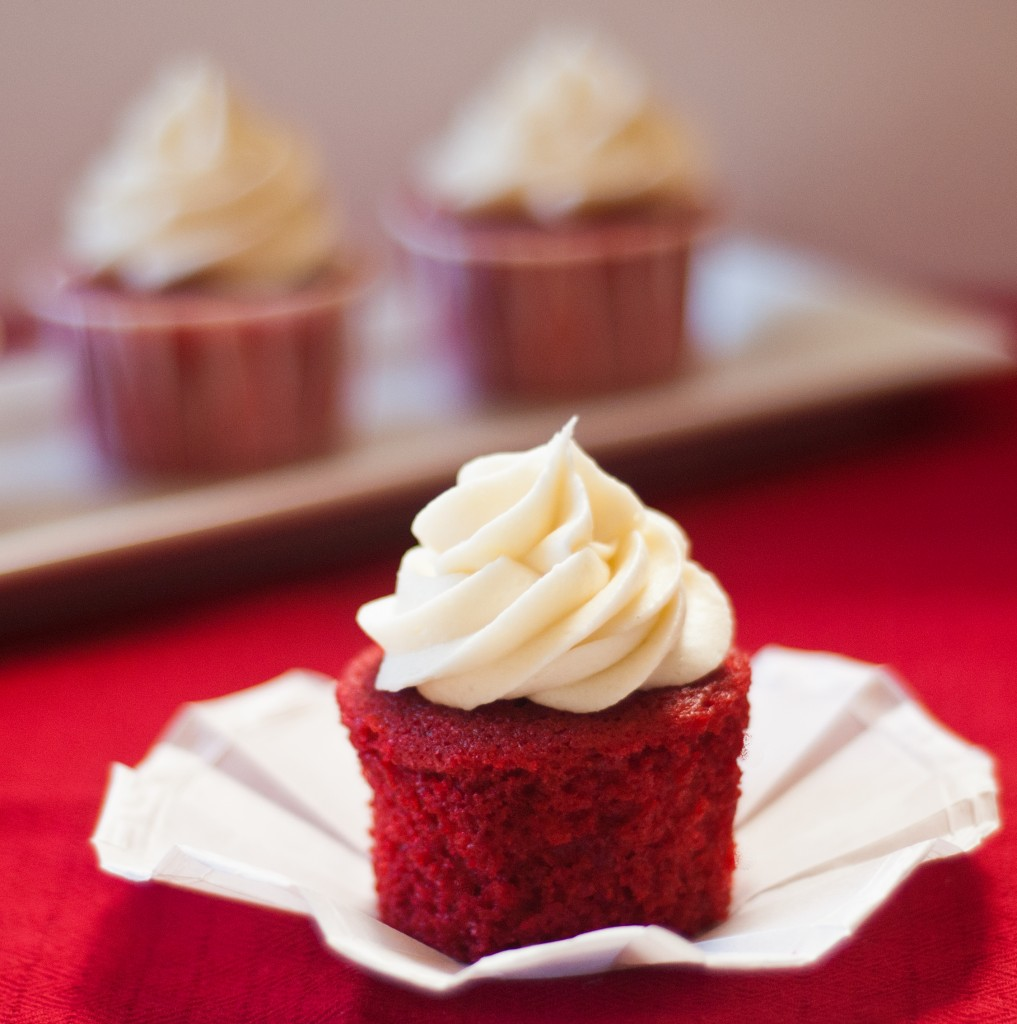 Red Velvet Cupcakes - Baked In