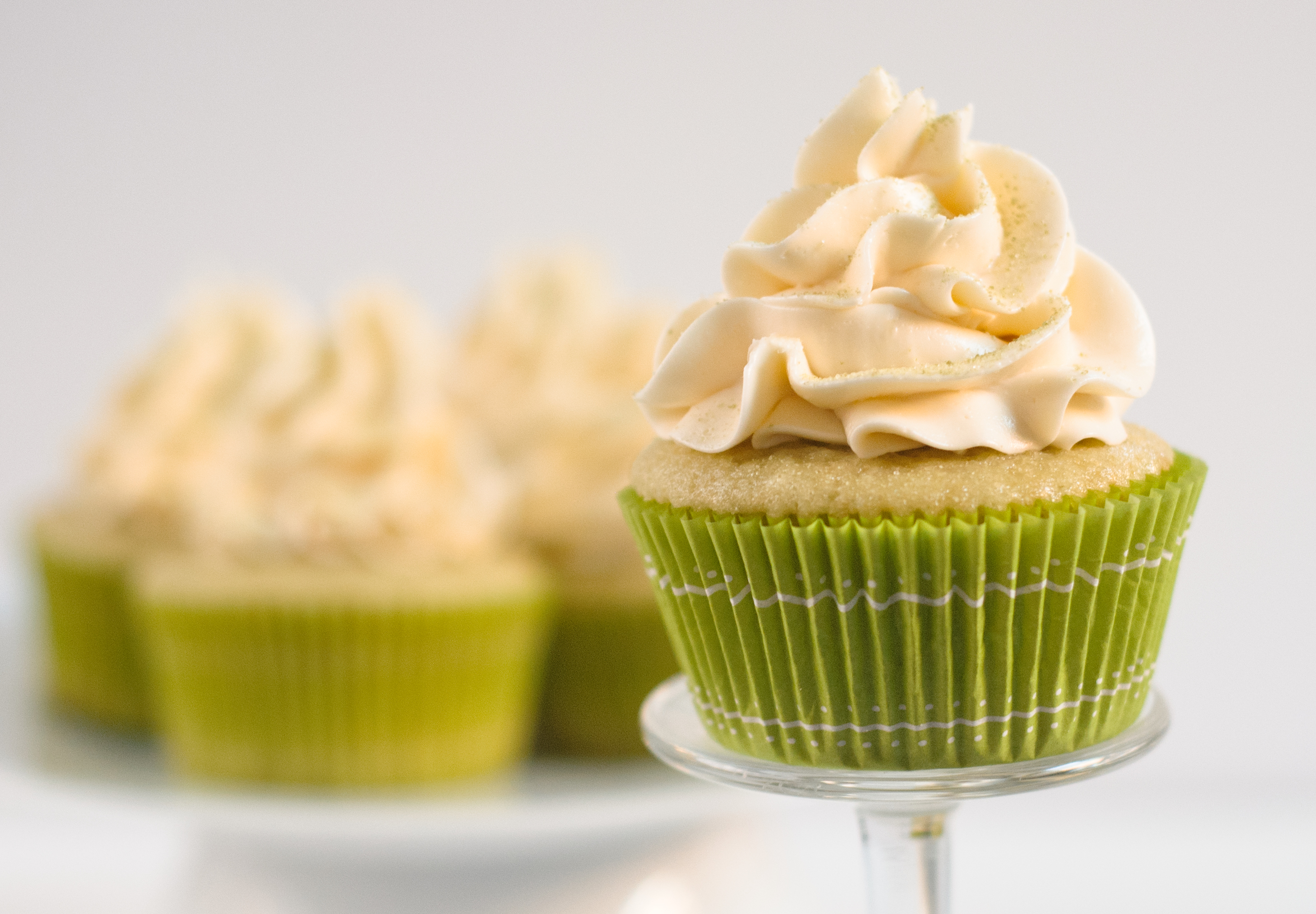 recipe: easy green tea cupcakes [15]