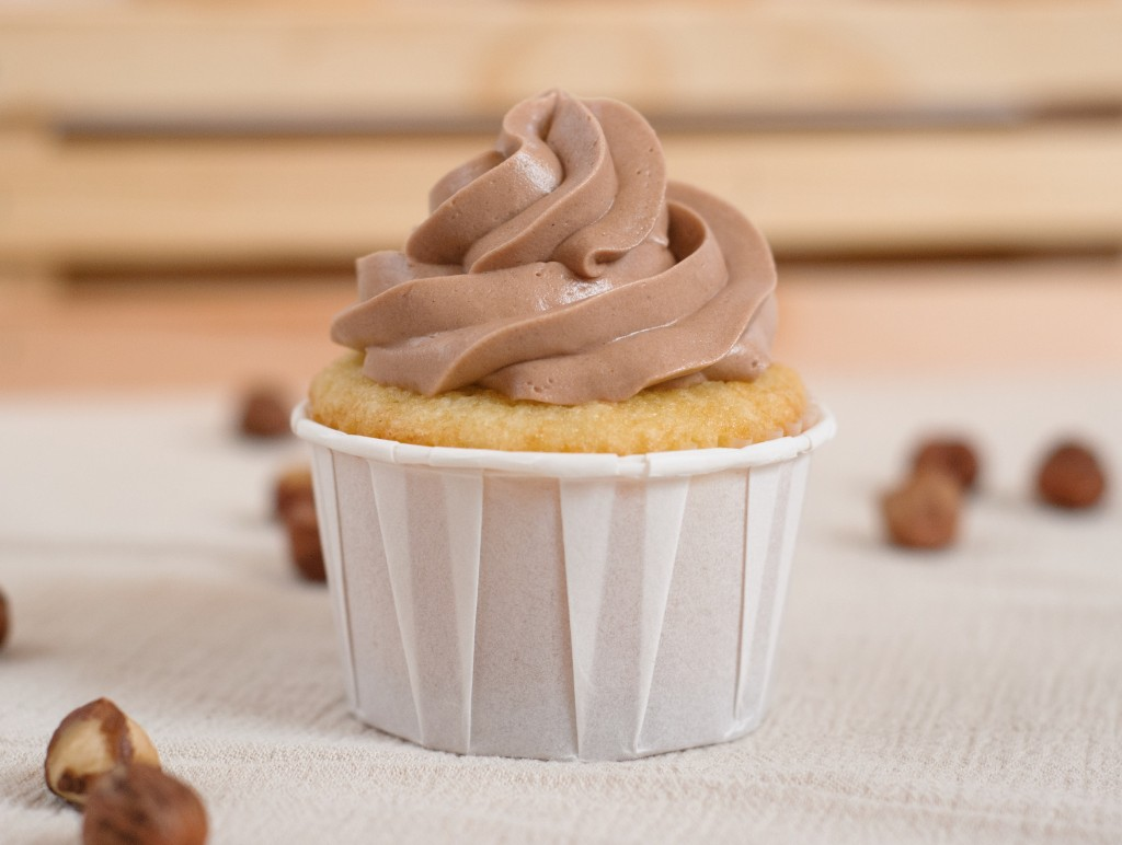 Nutella Cupcakes - Baked In