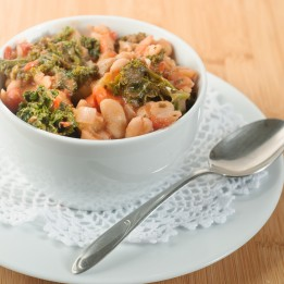 Kale and White Bean Stew