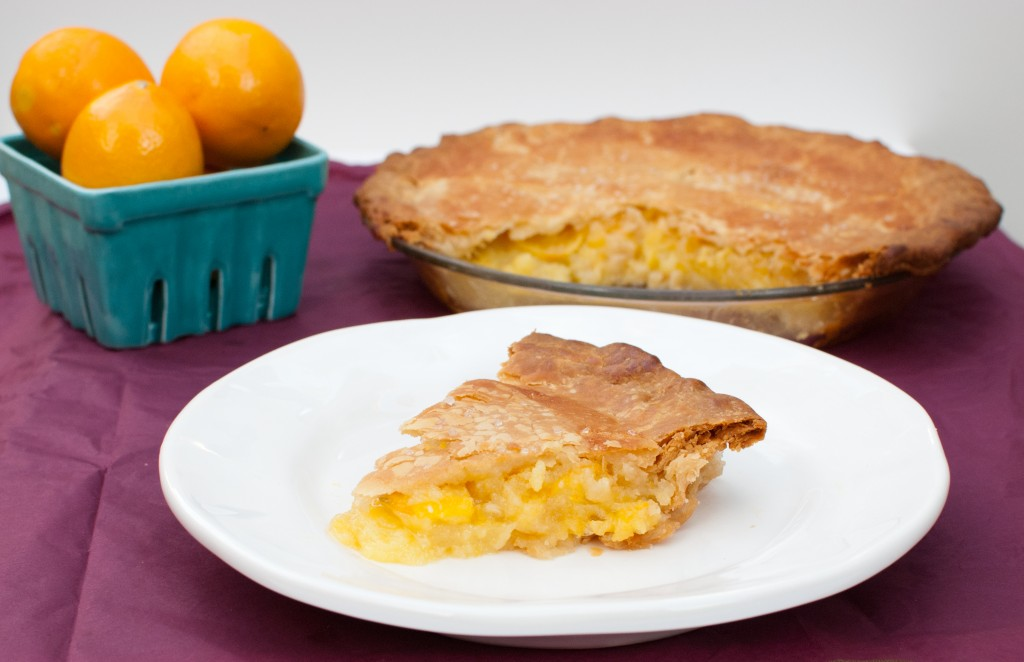 Shaker Meyer Lemon Pie - Baked In