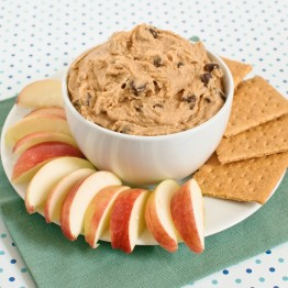 Peanut Butter Cookie Dough Dessert Hummus