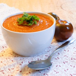 Tomato & Roasted Red Pepper Soup