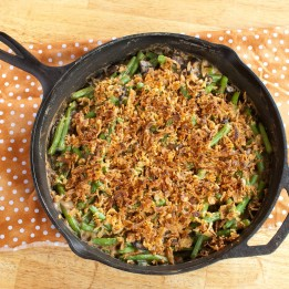 Healthy Green Bean Casserole