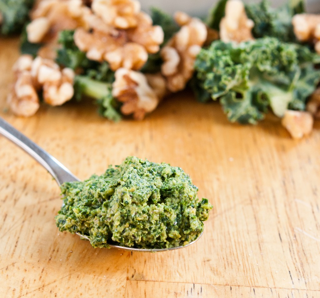 Kale Pesto Baked In