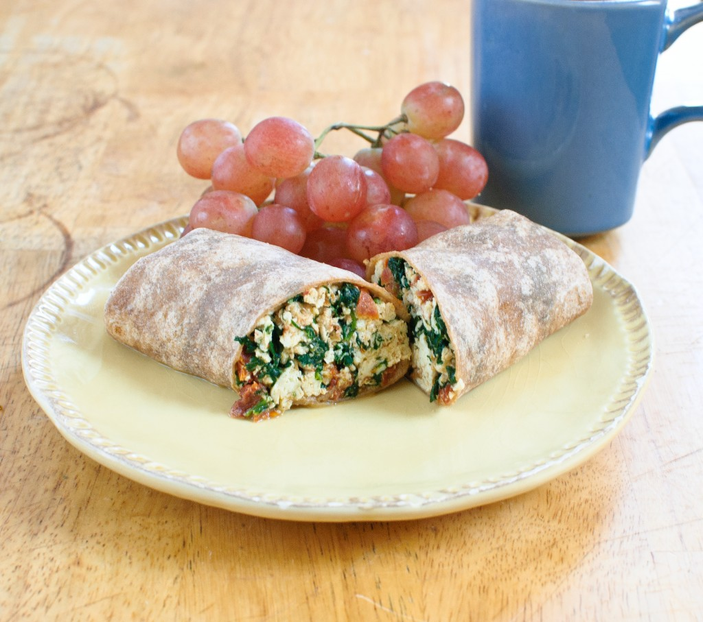 Copycat Starbucks Spinach, Egg White & Feta Wrap