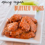 "Seitan Buffalo ""Wings"""