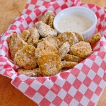 Oven-Fried Pickles