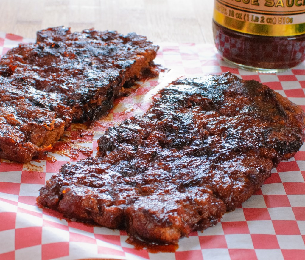 Vegan Barbecue Ribs