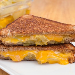 Green Tomato Grilled Cheese (And the Secret to Perfect Grilled Cheese)
