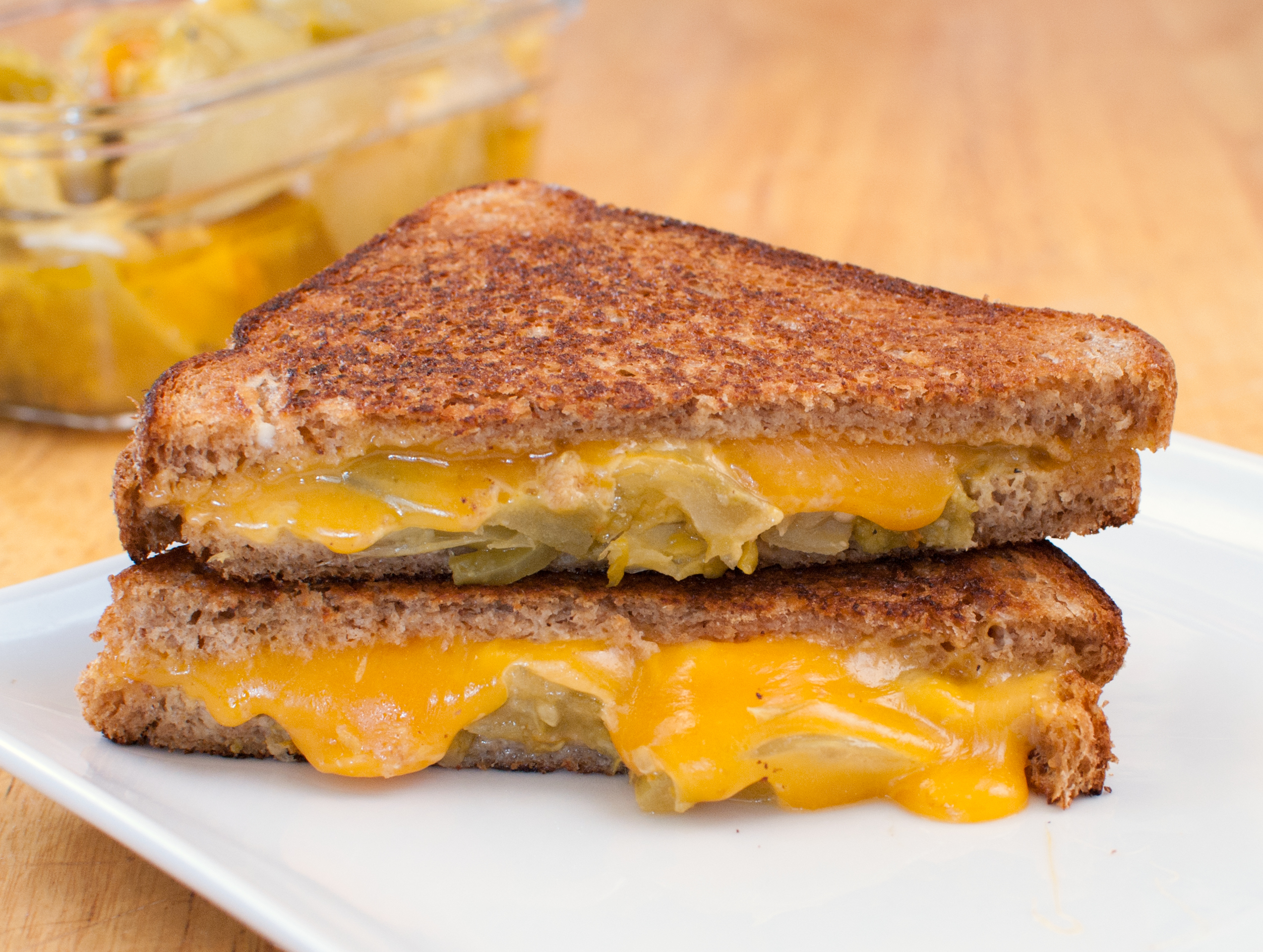 Green Tomato Grilled Cheese And The Secret To Perfect
