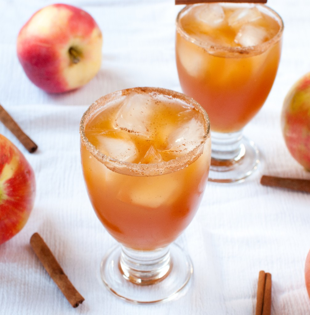 Apple Amaretto Cocktail - Baked In