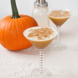 The Pumpkin Pie Martini