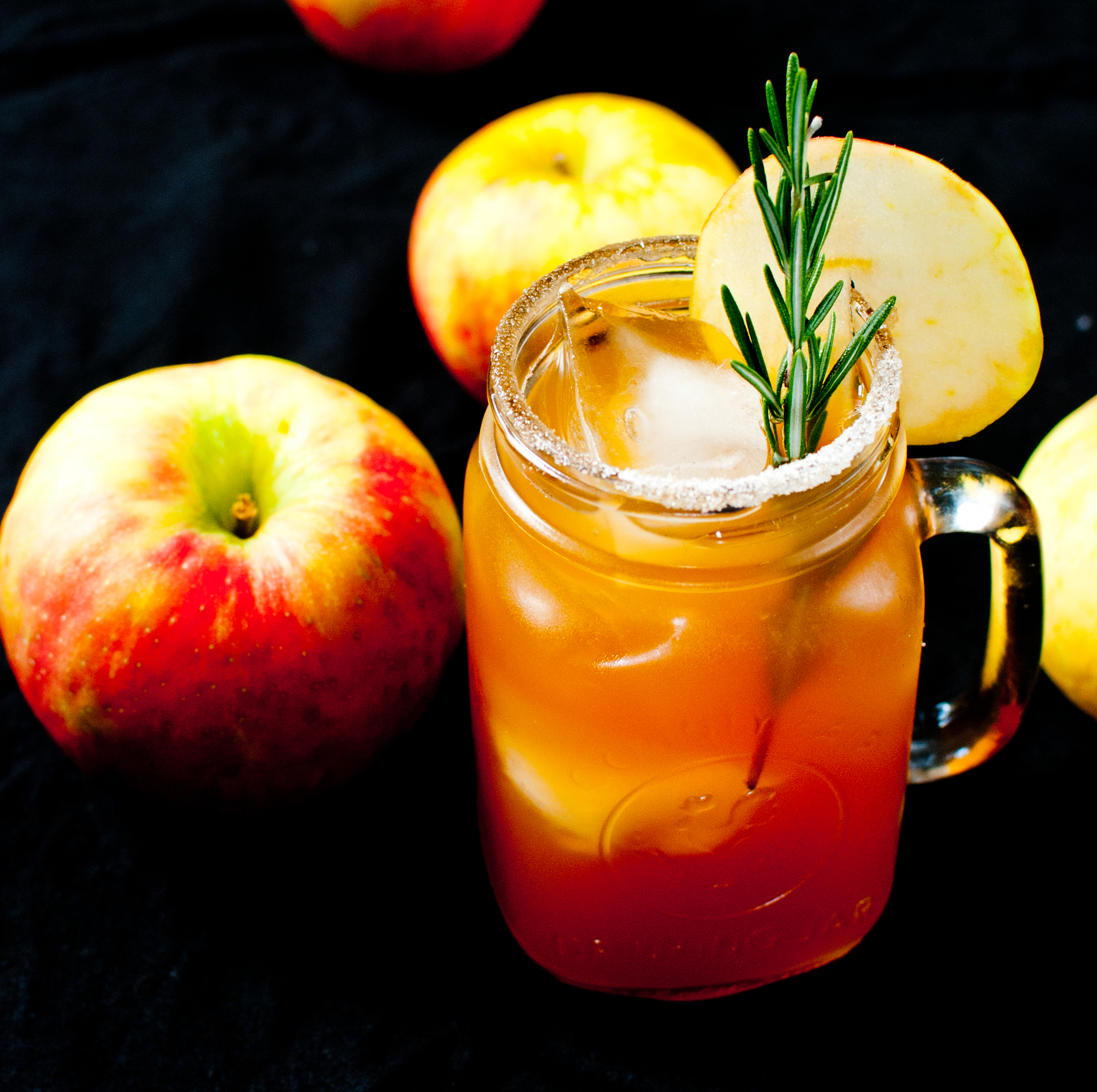 Apple Cider and Bourbon Cocktail - Baked In